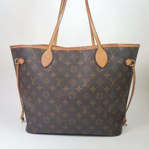 Auth Louis Vuitton Neverfull Mm Tote #6259L67B